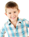 Portrait of little boy Stock Images
