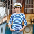 Portrait of a little boy. Royalty Free Stock Photo