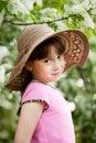 Portrait of little coquette Stock Photography