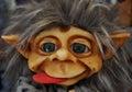 A portrait of little cute scandinavian troll spain Royalty Free Stock Images