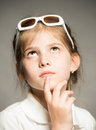 Portrait of a little girl Royalty Free Stock Photo