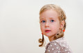 Portrait of a lovely little girl Royalty Free Stock Photo