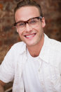 Portrait of a man smiling at camera Royalty Free Stock Photo