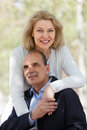 Portrait of mature couple Royalty Free Stock Photo