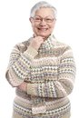 Portrait of mature woman smiling Royalty Free Stock Photography