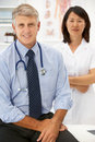 Portrait of medical professionals Royalty Free Stock Images