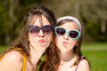 Portrait of a mother and daughter Royalty Free Stock Photo