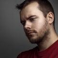 Portrait not the shaven