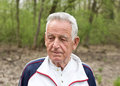 Portrait of old man Royalty Free Stock Photo