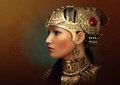 Portrait of an Oriental Princess, 3d CG