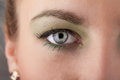 Portrait of a pretty girl close up eye beautiful Royalty Free Stock Images