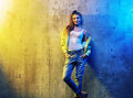 Portrait of a pretty hip-hop dancer Royalty Free Stock Photo