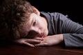 Triste ragazzo