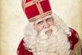 Portrait of Saint Nicholas Royalty Free Stock Photo