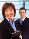 Portrait of senior businesswoman Royalty Free Stock Photo