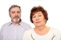 Portrait of senior couple Royalty Free Stock Photo