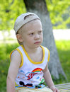 Portrait of the small boy Stock Image