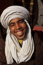 Portrait of Smiling Berber Man Stock Image