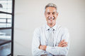 Portrait of smiling business professional with arms crossed Royalty Free Stock Photo