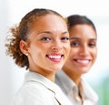 Portrait of smiling businesswomen Royalty Free Stock Photos