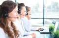Portrait of smiling female customer service agent Royalty Free Stock Photo
