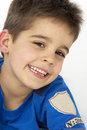 Portrait Of Smiling Young boy Royalty Free Stock Photo