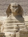 Portrait of the Sphinx Royalty Free Stock Photos
