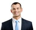 Portrait of successful businessman Stock Photos
