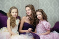 Portrait Of Three Sisters Royalty Free Stock Photo