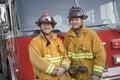 Portrait Of Two Firefighters B...