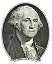 Portrait von George Washington Lizenzfreie Stockfotos