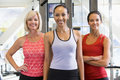 Portrait Of Women At Gym Royalty Free Stock Photo