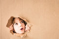 Portrait of worried child Royalty Free Stock Photo