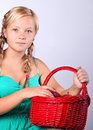 Portrait of young beautiful teen girl Royalty Free Stock Photos