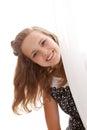Portrait of the young beauty Imágenes de archivo libres de regalías
