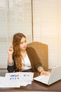 Portrait of a young business woman Royalty Free Stock Photo