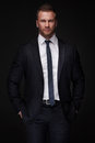 Portrait of young businessman Royalty Free Stock Photo