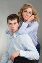 Portrait of young couple in love Stock Photography