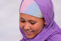 Portrait of young Ethiopian woman Stock Photography