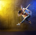 Portrait of a young hip hop dancer Royalty Free Stock Photo
