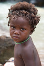Portrait of a young kid of the himba tribe namibia kunene january people looking at camera himbas are indigenous people living Royalty Free Stock Photos