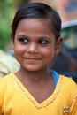 Portrait of a young kid in india agra july looking at the camera living the north and part free medical program july Stock Photography