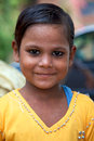 Portrait of a young kid in inida india agra july looking at the camera living the north india and part free medical program july Royalty Free Stock Image