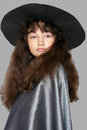 Portrait of a young witch Royalty Free Stock Photo