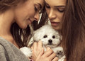 Portrait of young women Royalty Free Stock Photo