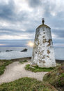 Portreath the pepperpot at in cornwall Stock Images