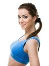 Portret sporty kobieta Obraz Stock