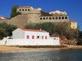Portugal, Alentejo, Vila Nova de Milfontes, Saint Clements Forte. Royalty Free Stock Photo