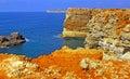 Portugal, Algarve, Sagres: Wonderful coastline Stock Images