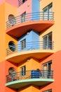Portugal: Colorful Algarve Royalty Free Stock Photo